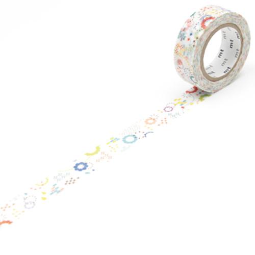 カモ井加工紙 マスキングテープ mt ex カラフルPOP 15mm×10m MTEX1P74 1巻