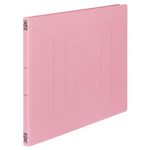 コクヨ フラットファイルV(樹脂製とじ具) A3ヨコ 150枚収容 背幅18mm ピンク フ-V48P 1パック(10冊)