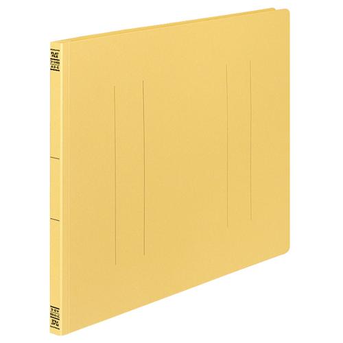 コクヨ フラットファイルV(樹脂製とじ具) A3ヨコ 150枚収容 背幅18mm 黄 フ-V48Y 1パック(10冊)