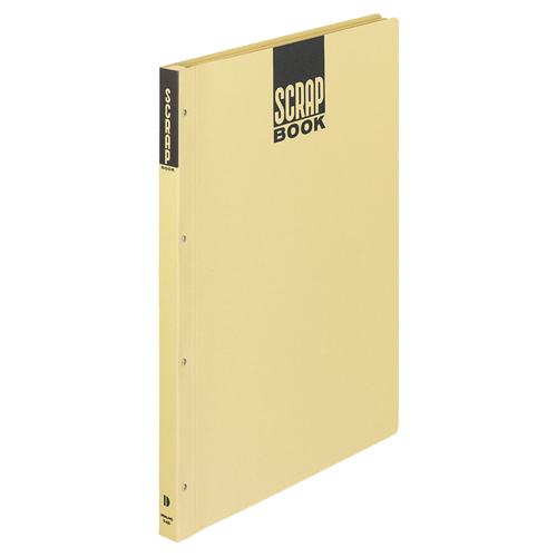 コクヨ スクラップブックD(とじこみ式) A3 中紙28枚 背幅25mm クラフト ラ-43N 1冊