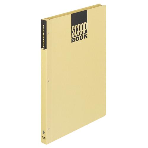 コクヨ スクラップブックD(とじこみ式) B4 中紙28枚 背幅25mm クラフト ラ-44N 1冊