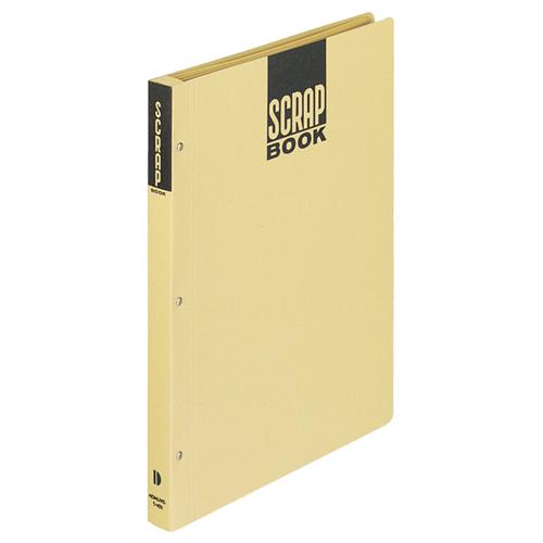 コクヨ スクラップブックD(とじこみ式) A4 中紙28枚 背幅25mm クラフト ラ-40N 1冊