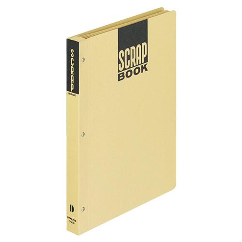 コクヨ スクラップブックD(とじこみ式) B5 中紙28枚 背幅25mm クラフト ラ-41N 1冊