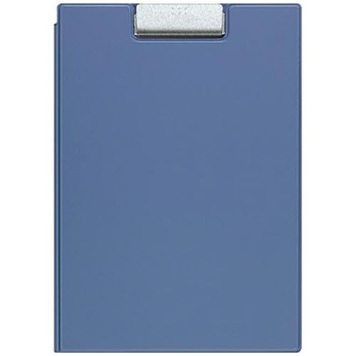 コクヨ クリップホルダー カバー付用箋挟 A4 青 ヨハ-50NB 1枚