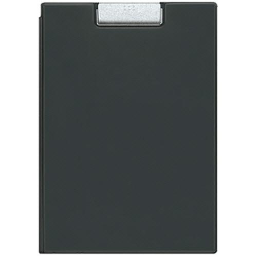 コクヨ クリップホルダー カバー付用箋挟 A4 黒 ヨハ-50ND 1枚