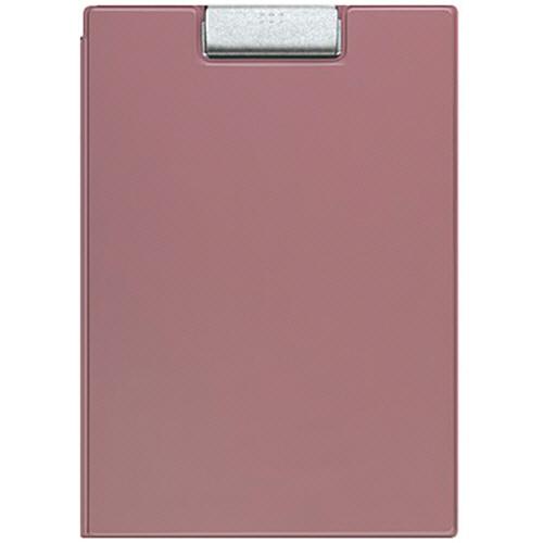 コクヨ クリップホルダー カバー付用箋挟 A4 ピンク ヨハ-50NP 1枚