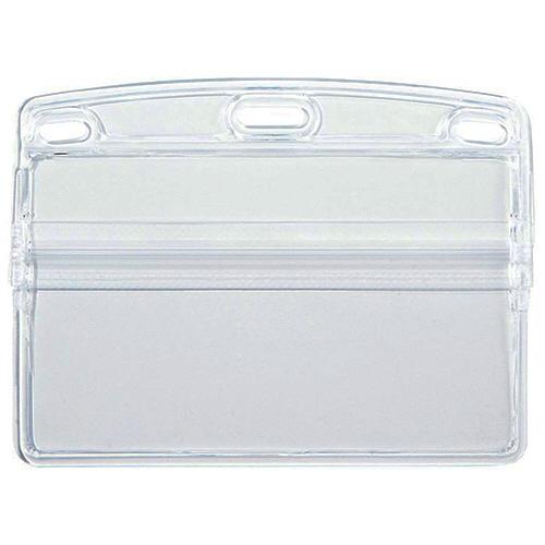 オープン工業 名札用ケース ソフトヨコ名刺 NX-105 1パック(10枚)