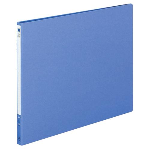 コクヨ ロングレバーファイル(Z式) B4ヨコ 120枚収容 背幅20mm 青 フ-2309NB 1冊