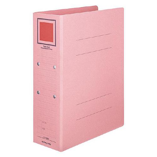 コクヨ チューブファイル(カラーボードツイン) A4タテ 500枚収容 50mmとじ 背幅62mm ピンク フ-T1650P 1冊