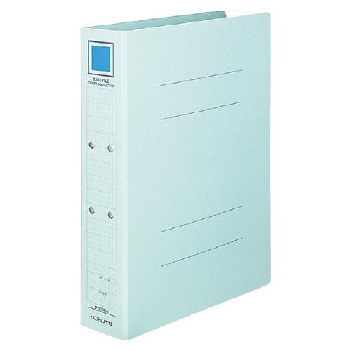 コクヨ チューブファイル(カラーボードツイン) A4タテ 800枚収容 80mmとじ 背幅92mm 青 フ-T1680B 1冊