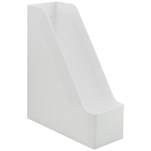 TANOSEE PP製ボックスファイル(組み立て式) A4 タテ ホワイト 1個