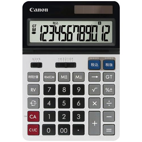 キヤノン プロ仕様電卓 BS-2200TG SOB 12桁 卓上型 8258B001 1台