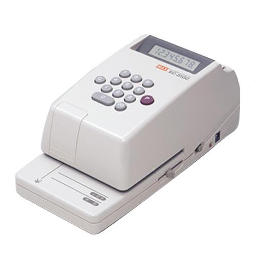 マックス 電子チェックライタ 8桁 EC-310C 1台