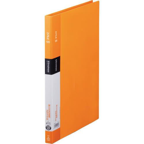 キングジム シンプリーズ Zファイル A4タテ 120枚収容 背幅17mm オレンジ 578SP 1冊