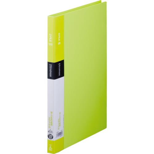 キングジム シンプリーズ Zファイル A4タテ 120枚収容 背幅17mm 黄緑 578SP 1冊
