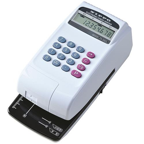 ニッポー 電子チェックライター 10桁 コードレスタイプ FX-45CL 1台