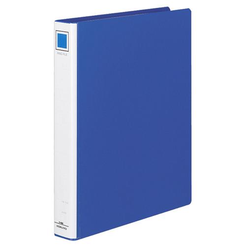 コクヨ リングファイル PPフィルム貼表紙 A4タテ 2穴 220枚収容 背幅45mm 青 フ-430NB 1冊