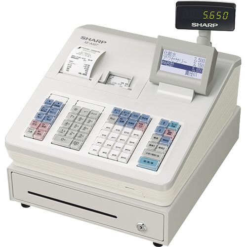 シャープ 電子レジスタ ホワイト XE-A307-W 1台
