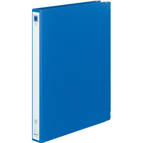 コクヨ リングファイル 色厚板紙 A4タテ 30穴 背幅36mm 青 フ-4680B 1冊