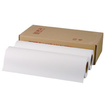 TANOSEE PPC・LEDプロッタ用普通紙ロール A2(420mm×150m) テープ止め 1箱(2本)