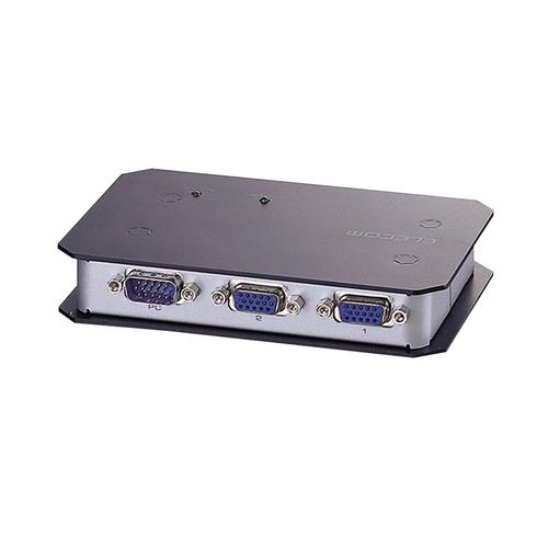 エレコム ディスプレイ分配器 2台分配 VSP-A2 1台