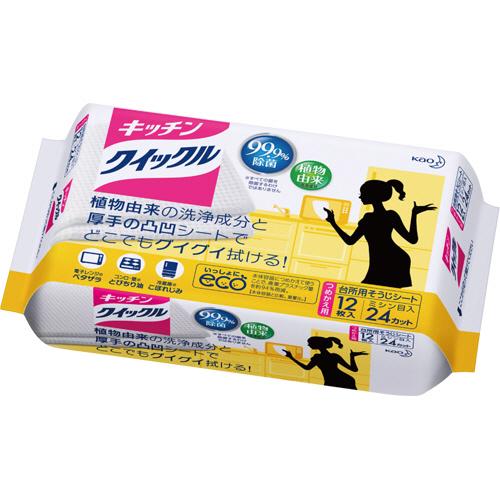 花王 キッチンクイックル つめかえ用 1パック(12枚)