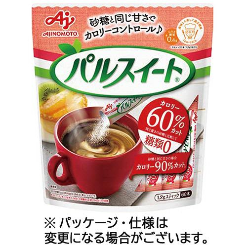 味の素 パルスイート スティック 1.2g 1パック(60本)