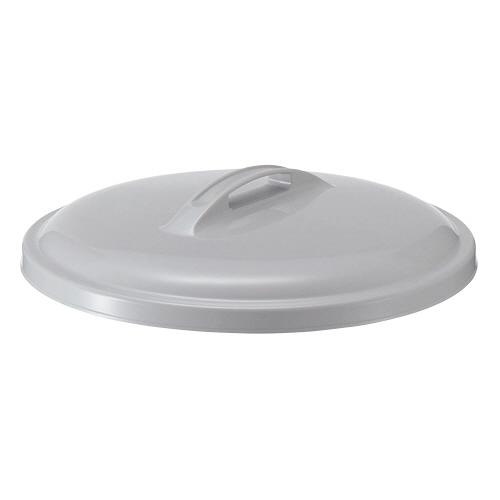 積水テクノ成型 エコポリペール 丸型 45L フタ グレー PEFN45H 1個