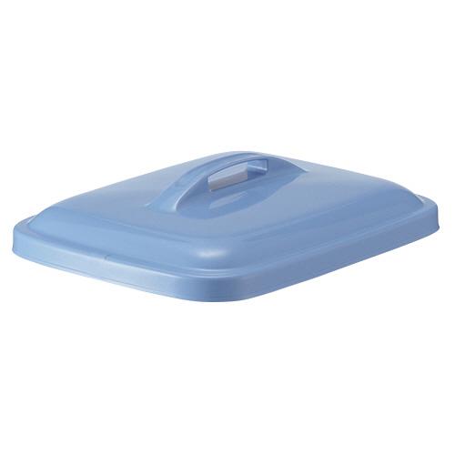 積水テクノ成型 エコポリペール 角型 45L フタ ブルー PEKF4B 1個