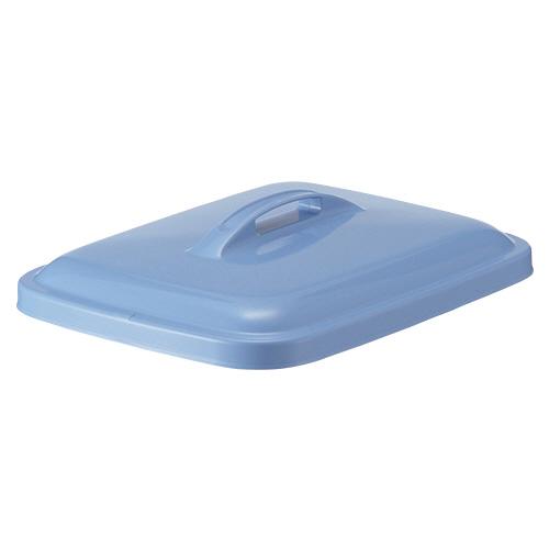 積水テクノ成型 エコポリペール 角型 60L フタ ブルー PEKF6B 1個