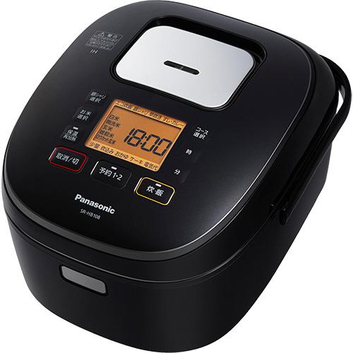 パナソニック IHジャー炊飯器 5.5合炊き ブラック SR-HB108-K 1台