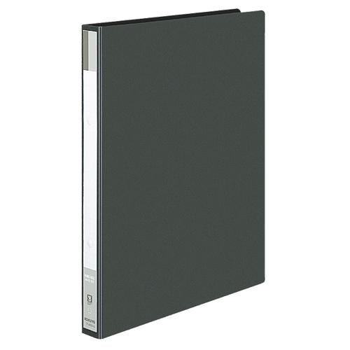 コクヨ リングファイル 色厚板紙表紙 A4タテ 2穴 170枚収容 背幅30mm 黒 フ-420D 1冊
