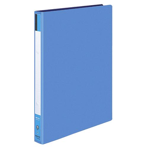 コクヨ リングファイル 色厚板紙表紙 A4タテ 2穴 170枚収容 背幅30mm 青 フ-420B 1冊