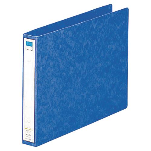 リヒトラブ リングファイル A4ヨコ 2穴 200枚収容 背幅35mm 藍 F-833 1冊