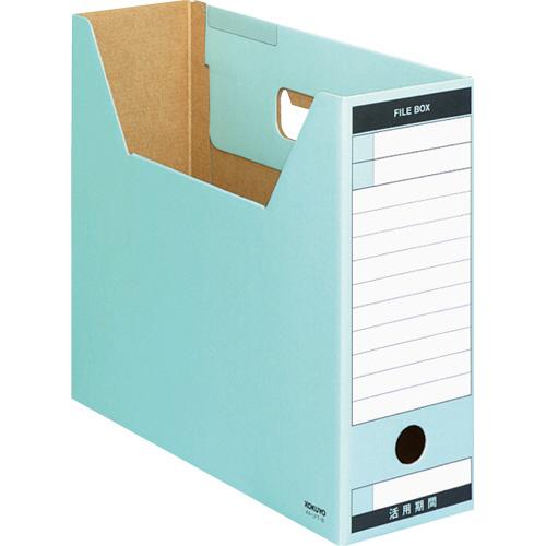 コクヨ ファイルボックス-FS(Tタイプ) A4ヨコ 背幅102mm 青 A4-LFT-B 1冊