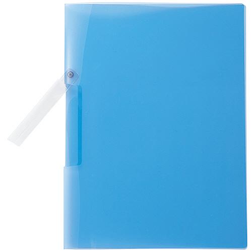コクヨ クリップファイル(K2) A4タテ 20枚収容 青 K2フ-790B 1冊