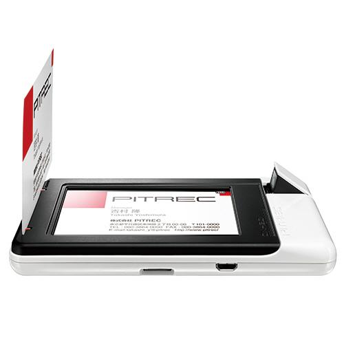 キングジム デジタル名刺ホルダー ピットレック DNH20シロ 1台