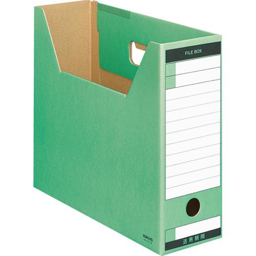コクヨ ファイルボックス-FS(Tタイプ) A4ヨコ 背幅102mm 緑 A4-LFT-G 1冊