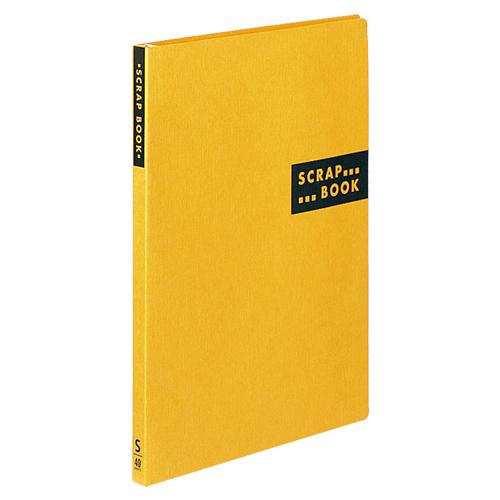 コクヨ スクラップブックS(スパイラルとじ・固定式) A4 中紙40枚 背幅20mm 黄 ラ-410Y 1冊