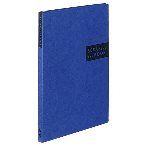 コクヨ スクラップブックS(スパイラルとじ・固定式) A4 中紙40枚 背幅20mm 青 ラ-410B 1冊