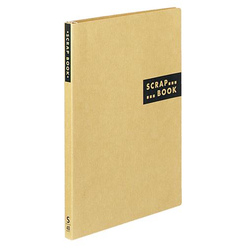コクヨ スクラップブックS(スパイラルとじ・固定式) A4 中紙40枚 背幅20mm 茶 ラ-410S 1冊