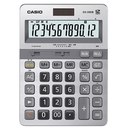 カシオ 本格実務電卓 日数&時間計算 12桁 DS-20DB-N 1台