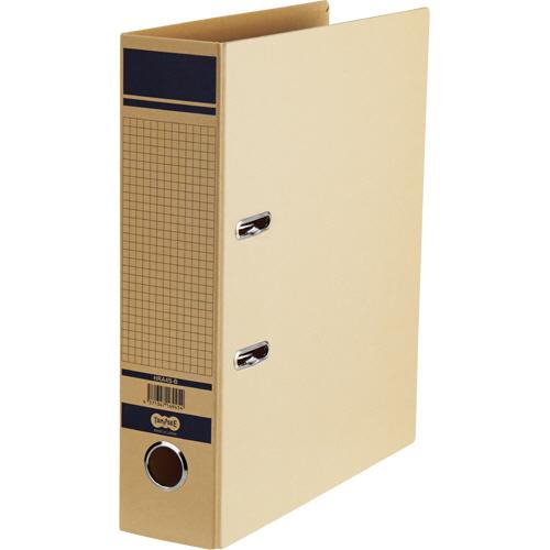 TANOSEE 保存用レバー式アーチファイル A4タテ 背幅77mm 青 1冊