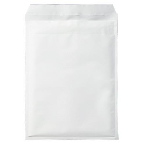 TANOSEE クッション封筒エコノミー A4ワイド用 内寸260×350mm ホワイト 1パック(50枚)