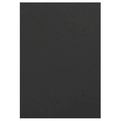 TANOSEE 色画用紙 四つ切 こいくろ 1パック(10枚)