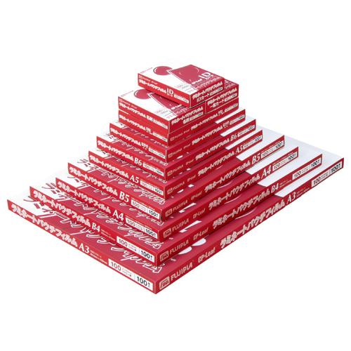 フジプラ ラミネートフィルム B4 100μ FCP10263370 1パック(100枚)