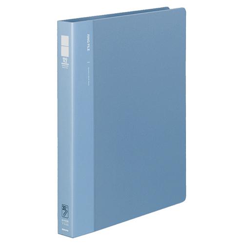 コクヨ リングファイル 発泡PP表紙 A4タテ 30穴 170枚収容 背幅33mm 青 フ-F470B 1冊