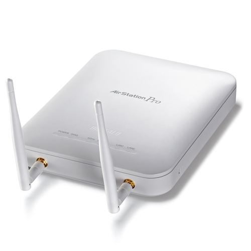 バッファロー AirStation PRO 無線LANアクセスポイント 11n/a・11n/g/b切替接続 WAPS-AG300H 1台