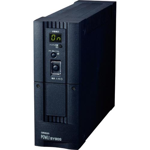 オムロン UPS 無停電電源装置 正弦波出力 800VA/500W BY80S 1台