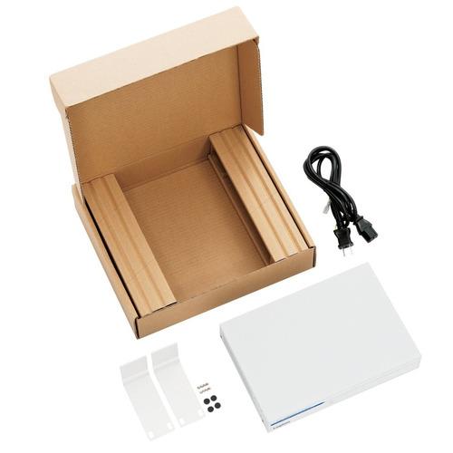 ロジテック 100BASE-TX対応 PoEスイッチングハブ 8ポート ホワイト LAN-SW08ES4/MA 1台